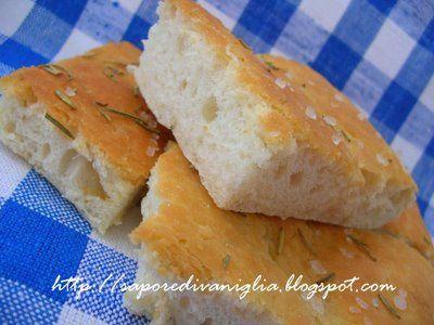 Sapore di Vaniglia: Focaccia con fiocchi di patate