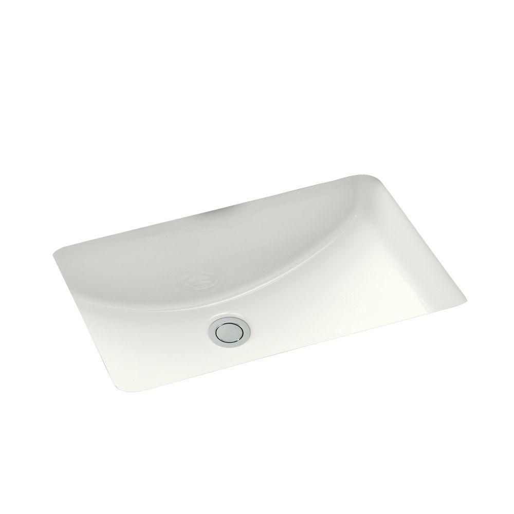 Kohler Ladena 20 7 8 Undermount Bathroom Sink With Glazed