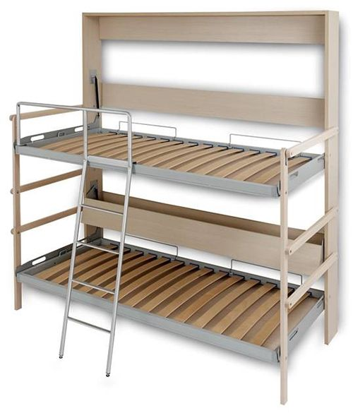 The Castello Murphy Bunk Bed Italian Murphy Beds Murphy Bunk Beds Bunk Bed Plans Bunk Beds