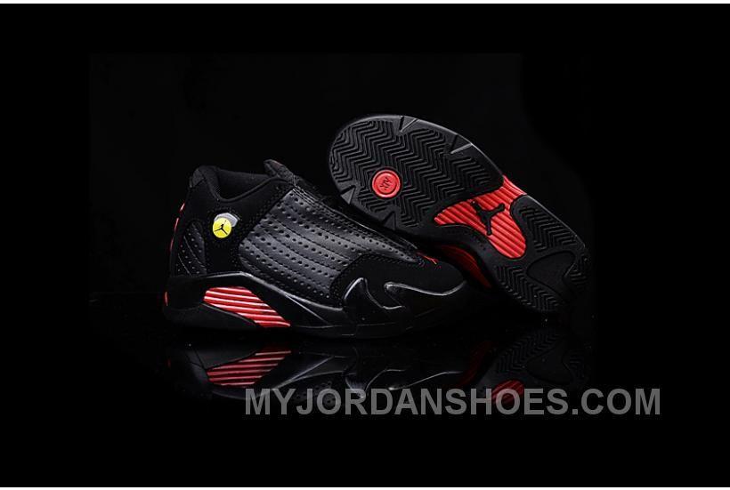 buy popular 69028 ca54c Kids Jordan Kids Air Jordan 14 Black Red New Arrivals   Kids ...