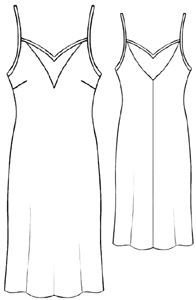 This is a dress pattern from a site that has loads of free
