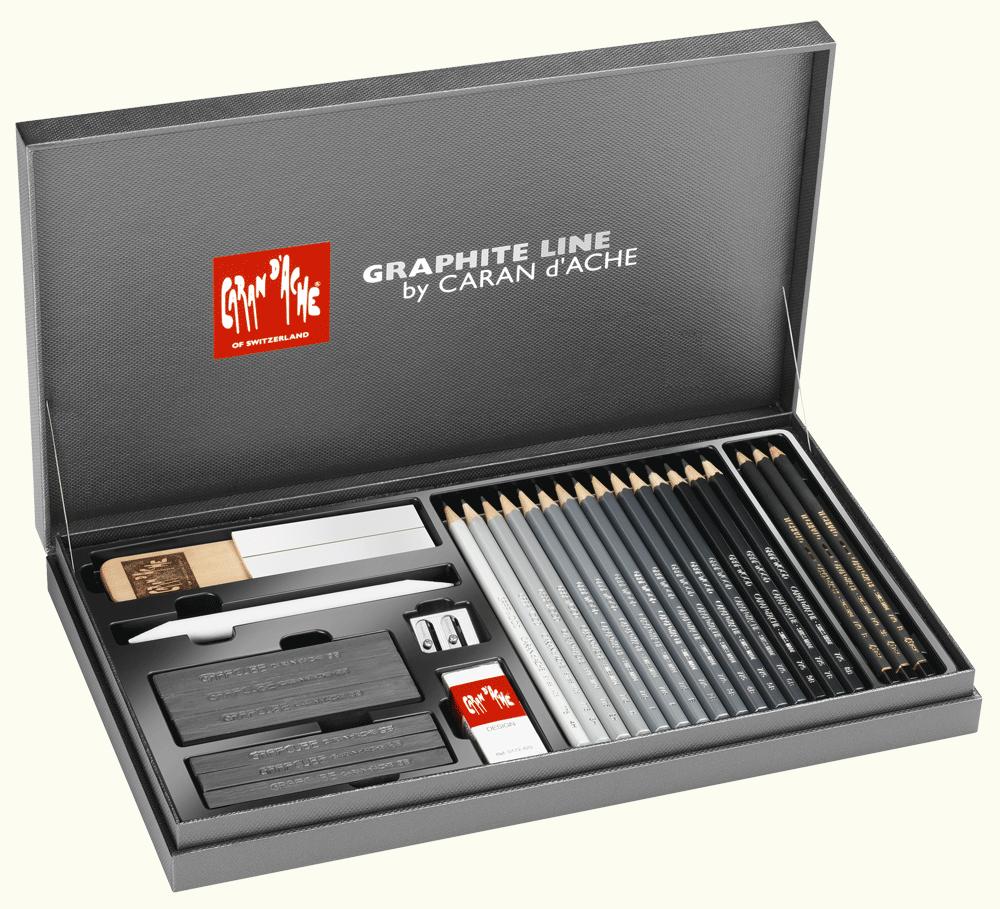 Caran D Ache Graphite Line Box Rex Art Supplies Best Mechanical Pencil Graphite Best Pencil