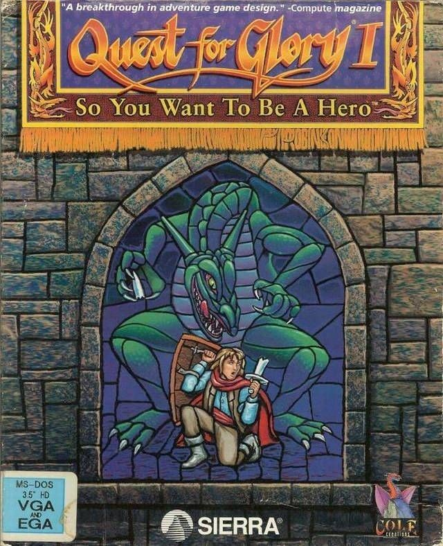 Quest For Glory I So You Want To Be A Hero (VGA Version