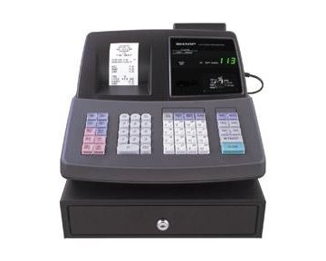 sharp xe a206. sharp xe-a206 refurbished cash register xe a206 5
