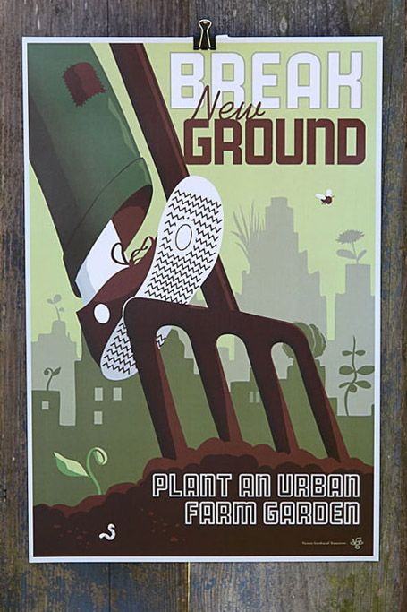Lustables Old School Victory Garden Posters for Todays Homefront