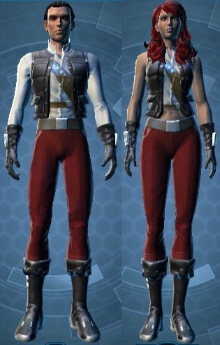 Show Offs Casual Armor Set Swtor Marketing Star Wars Sales