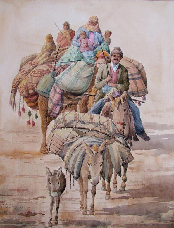 Reza Badrossama Gallery، wandering tribe(2)