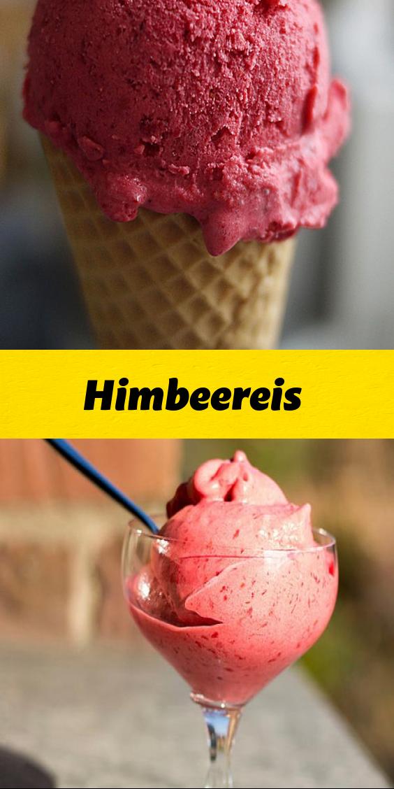 Himbeereis In 2020 Himbeereis Himbeeren Eis