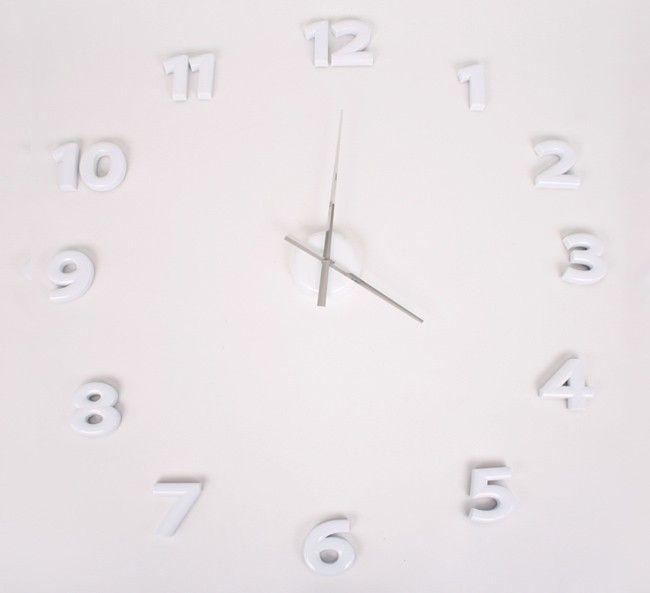 klocka med lösa siffror