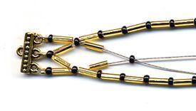 #favecraftscom #bracelet #bugle #bead #fromBugle bead bracelet from Bugle bead bracelet from #favecraftscom