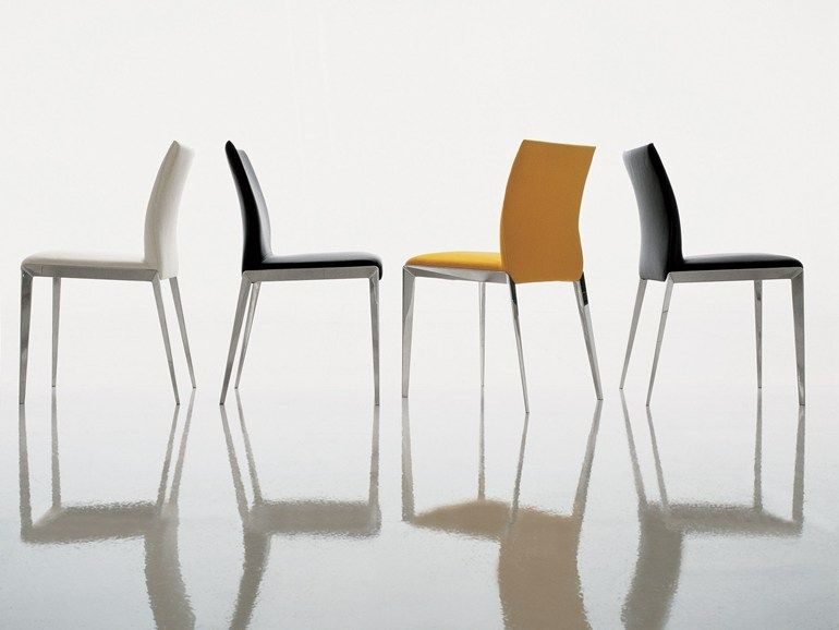 Sedie Molteni ~ Upholstered fabric chair with removable cover dart by molteni c