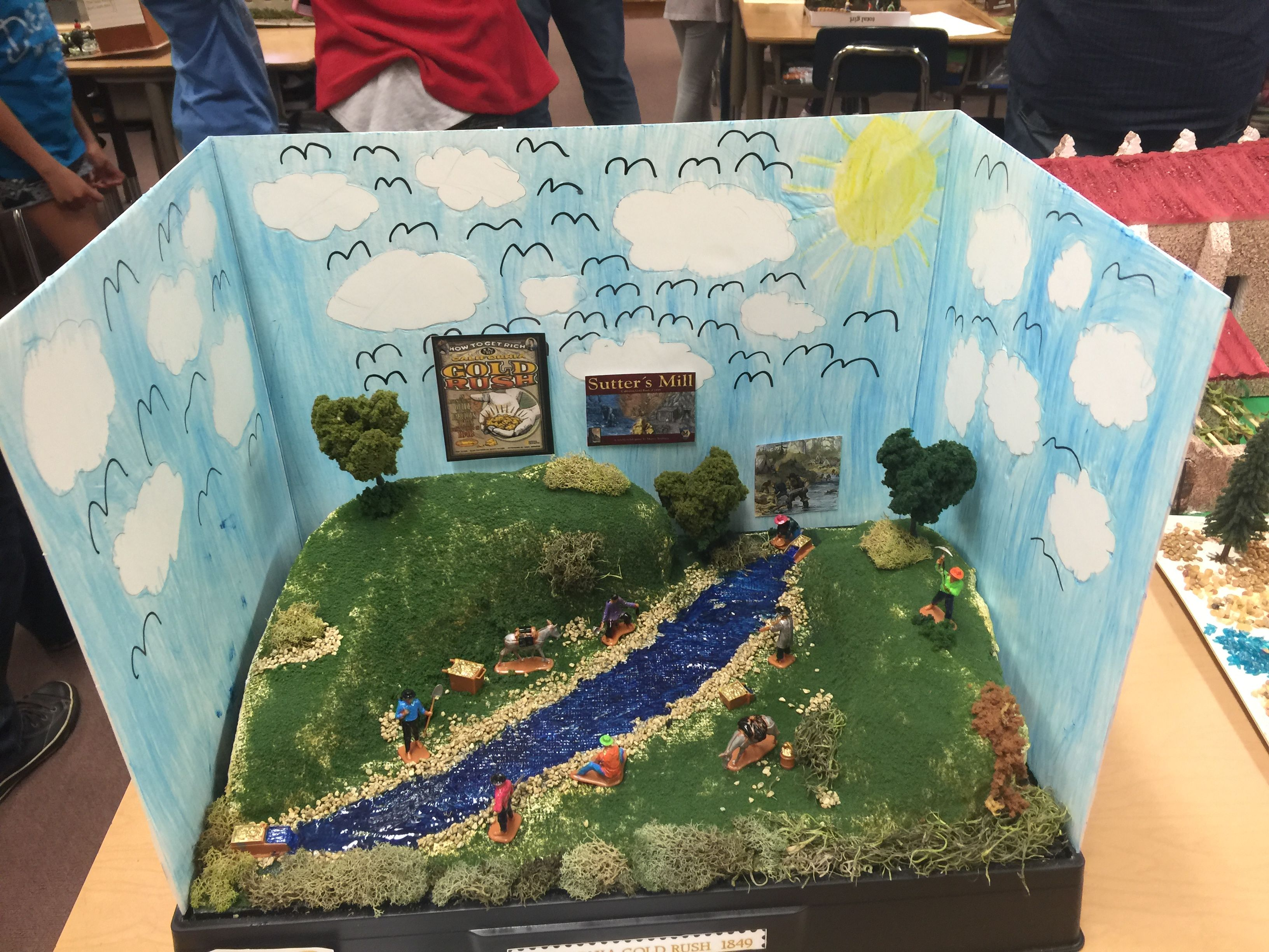 Pin by leslie stevens on wyatt 4th grade class gold rush for 4th grade craft projects