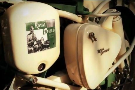 Delhi Man Is Custommade To Rebuild Classic Royal Enfield - Classic motorcycle custom stickers