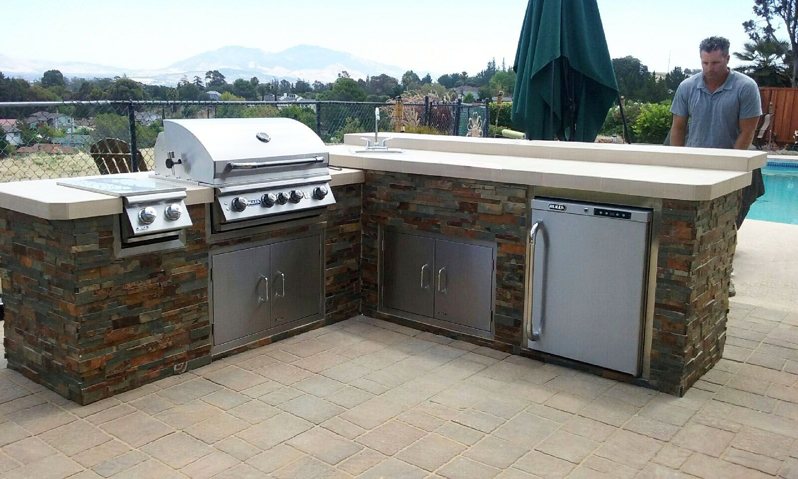 pin by bay area bbq islands on outdoor kitchen island outdoor kitchen island kitchen grill on outdoor kitchen island id=38207