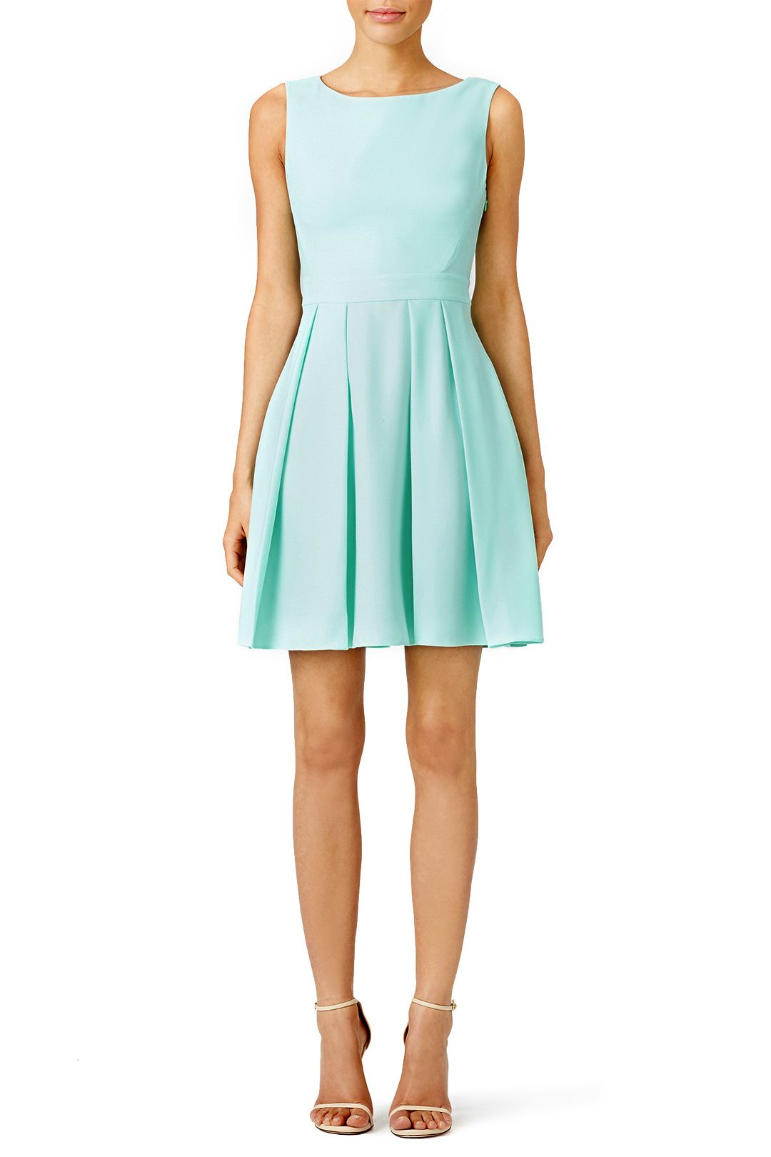 Rent Mint Bow Back Dress by kate spade new york for $70 only at Rent ...
