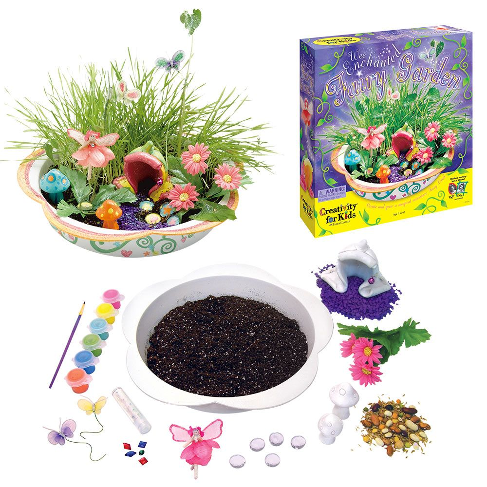 Charming Wee Enchanted Fairy Garden Kit At The Animal Rescue Site