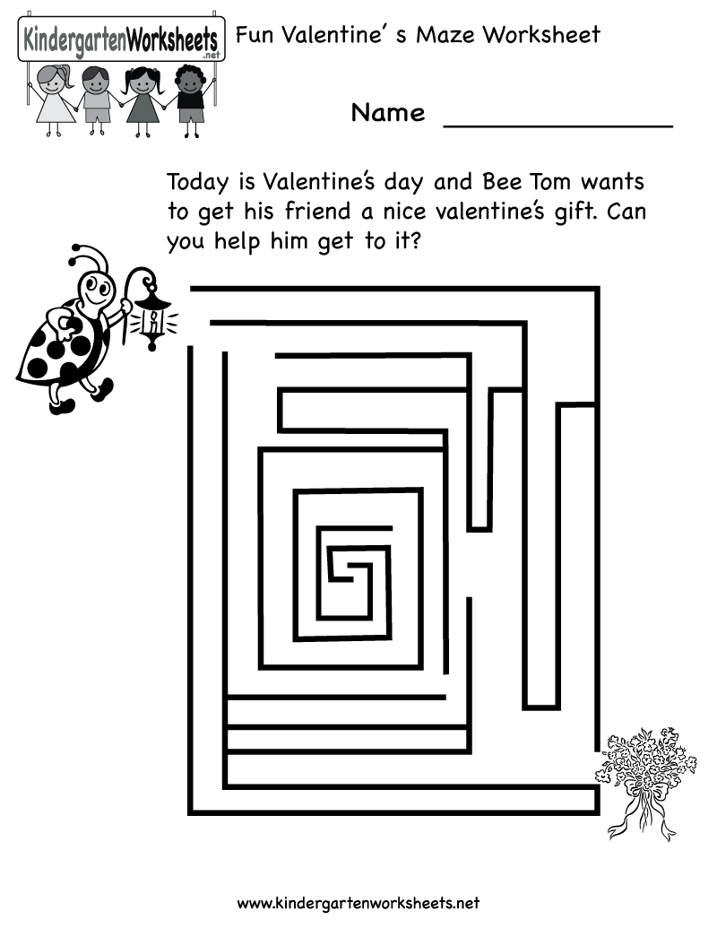1000 images about Valentines Day Worksheets and More on – Valentine Worksheets for Kindergarten