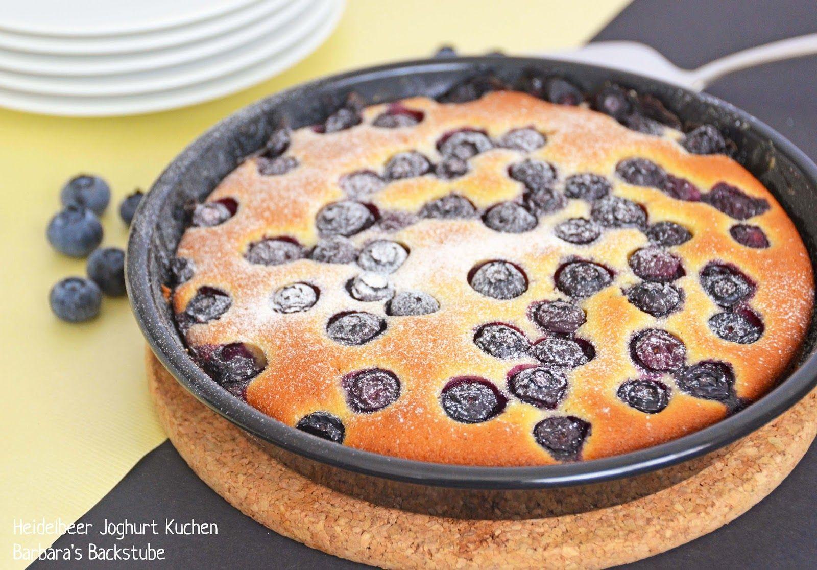 Barbara's Backstube: Heidelbeer Joghurt Kuchen