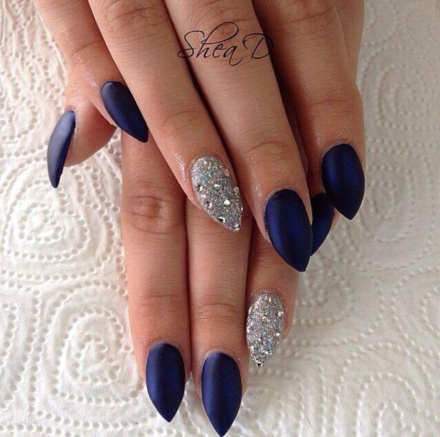 Diamonds | Nails | Pinterest | Diamond, Prom nails and Winter nails