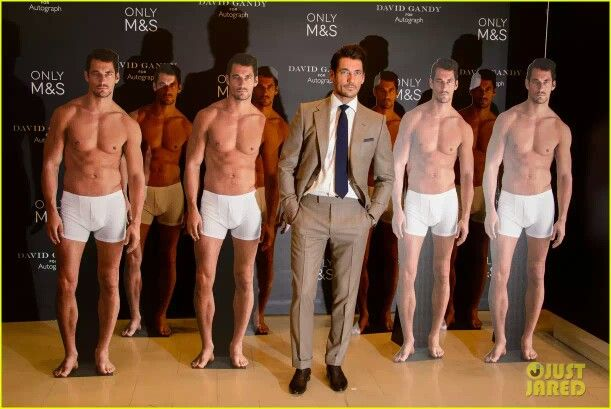 David Gandy #GandyForAutograph Launch at M&S Marble's Arch Store, Londres - 18 de sept. 2014.
