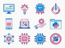 85 Computer Programming Icon Set Icon Set Computer Programming Icon Font