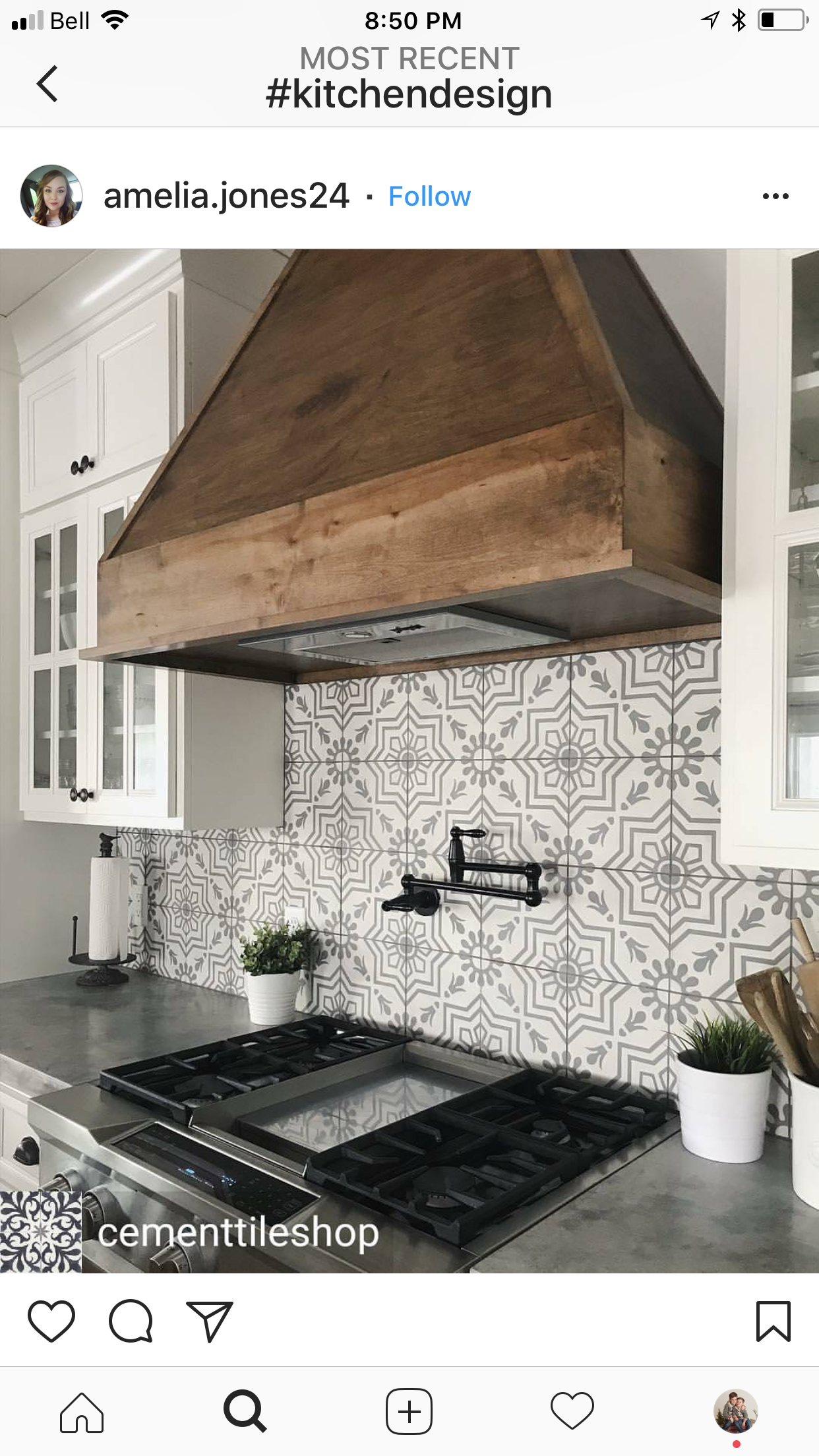 Replace The Microwave Space With Lovely Vent Hood Farmhouse Kitchen Backsplash Kitchen Remodel Modern Farmhouse Kitchens