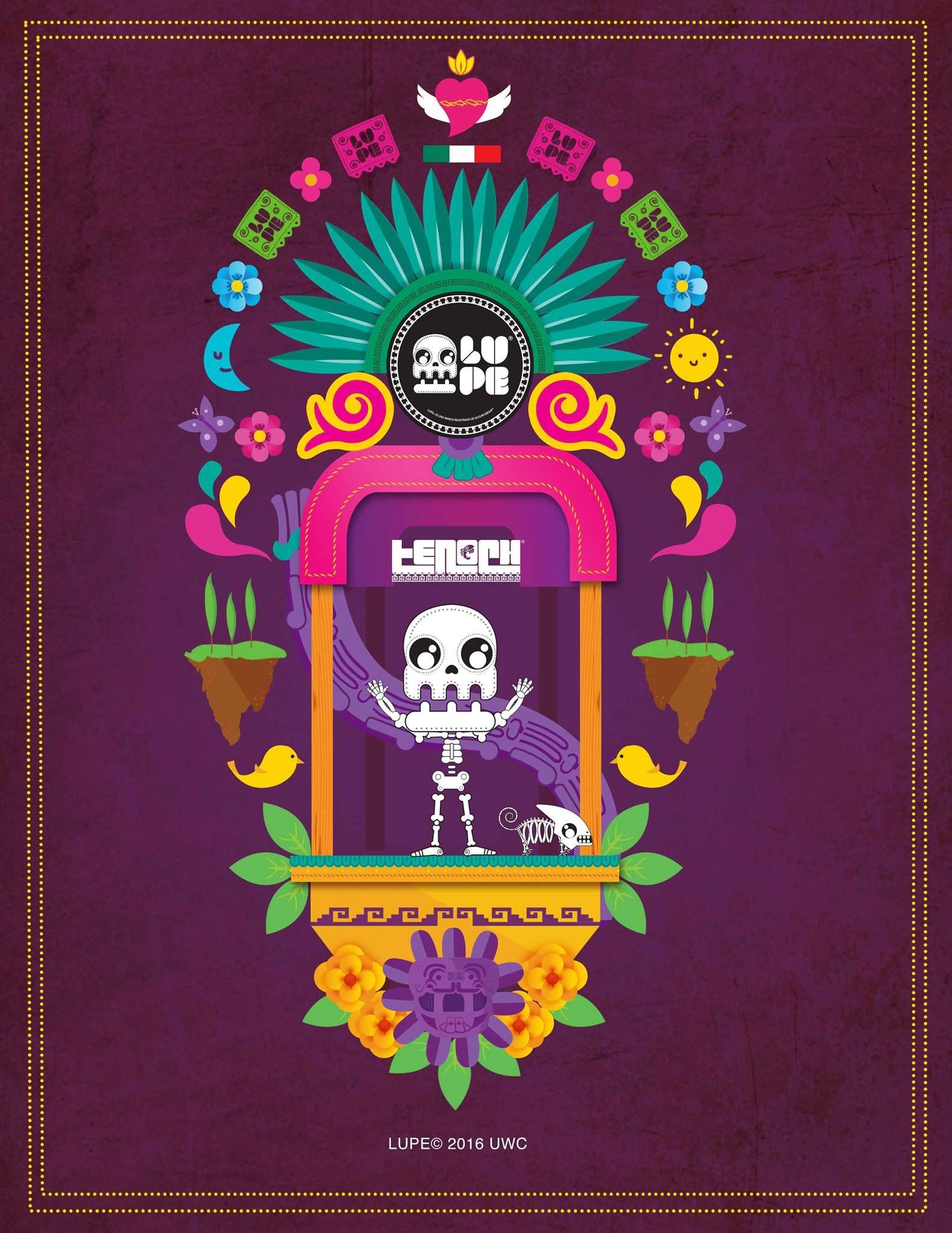 Trajinera Xochimilco Simbolos Aztecas Disenos De Unas Y