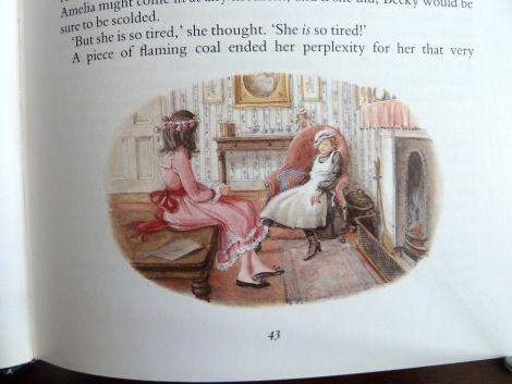 Frances Hodgson Burnett's A Little Princess illustration