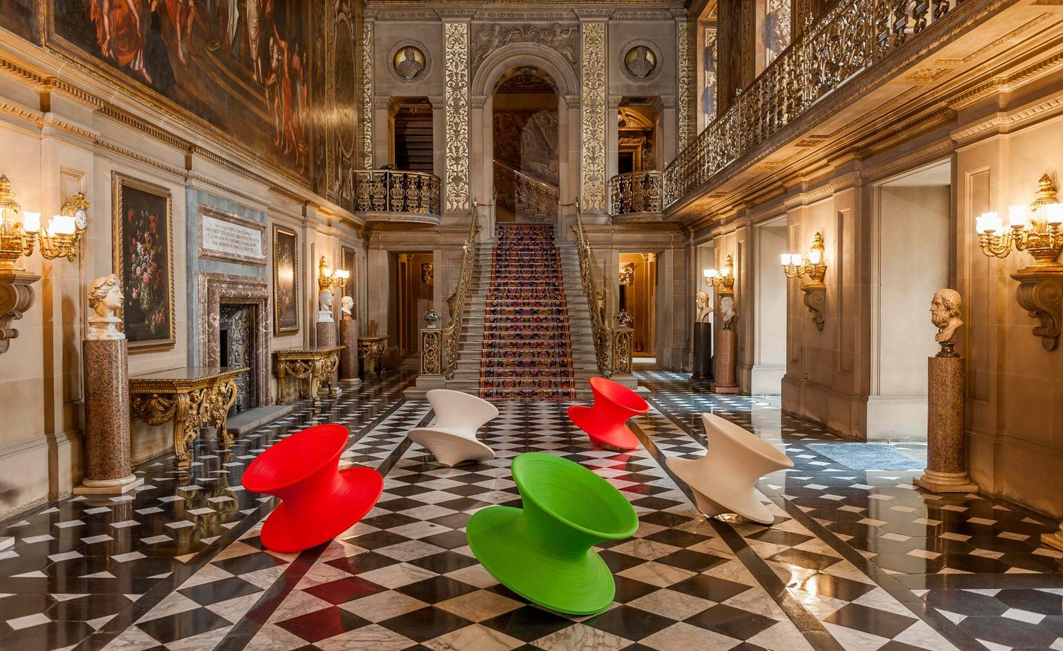 Sitting pretty: Chatsworth hosts contemporary feast of chairs ...