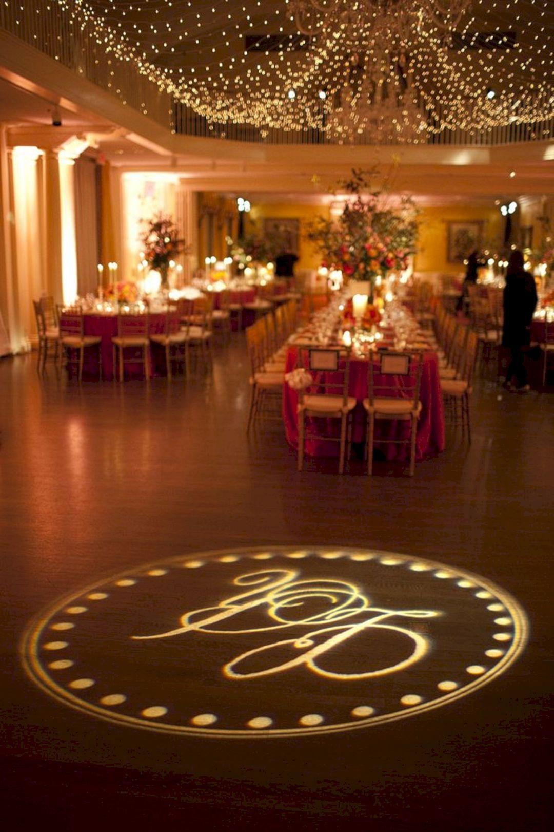 marvelous wedding dance floor lighting