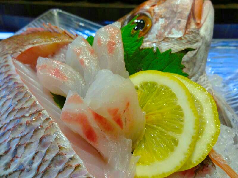 Fish of the month! Sakura Dai (Snapper), sushi or sashimi, your choice! For inquiries or to place an order, please call +603-7980 8228. #ishin #JapaneseFood #kaiseki