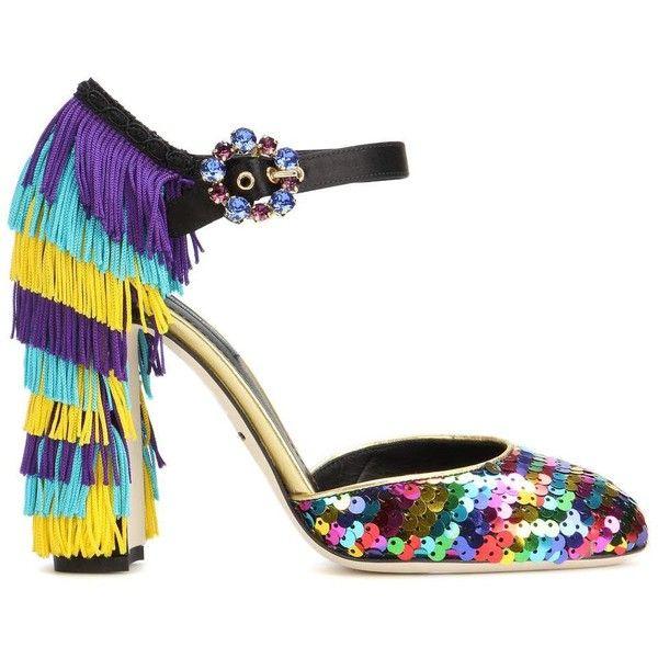 Dolce & Gabbana Vally 105 embellished pumps aaEvdDP15