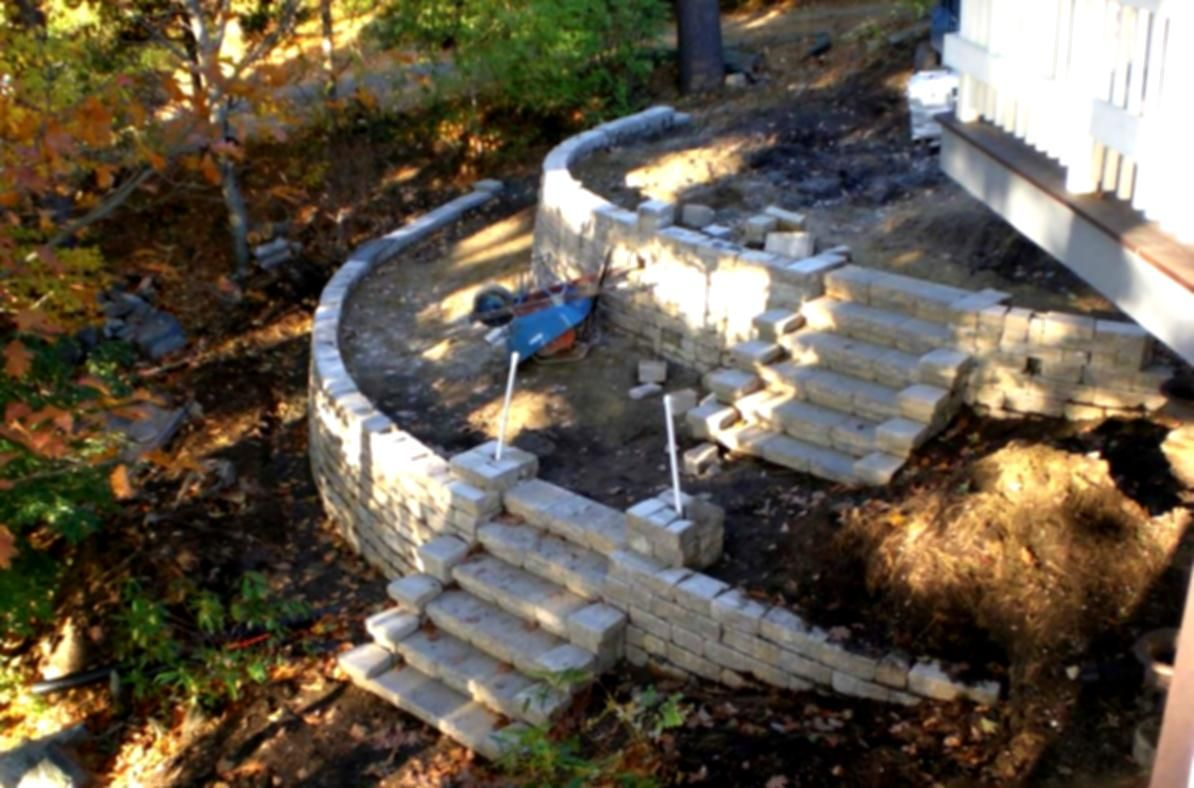 An Uphill Battle Turf Design Build Magazine Landscaping ... on Uphill Backyard Landscaping Ideas id=72136
