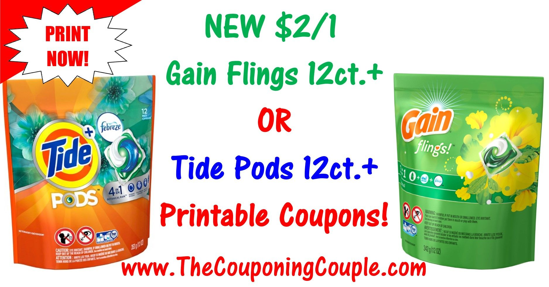 photo relating to Gain Printable Coupons identified as Contemporary Tide Pods Printable Coupon Income Flings Printable