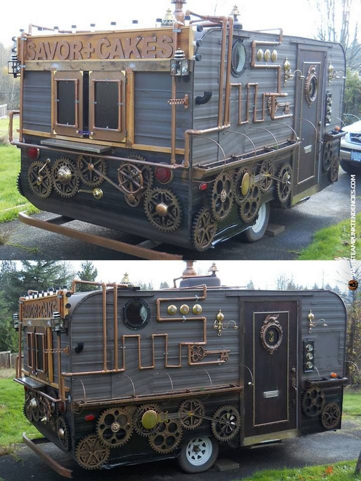 Food Punk Dylan S Candy Bar A Grown Up S Candy Store: Steampunk Food Car-ArtisanCakeCompany But I Think