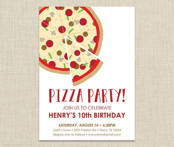 pizza party invitation school pizza party office pizza party from