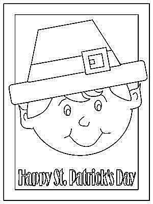 free printable st patrick's day coloring pages for kids  thanksgiving coloring pages