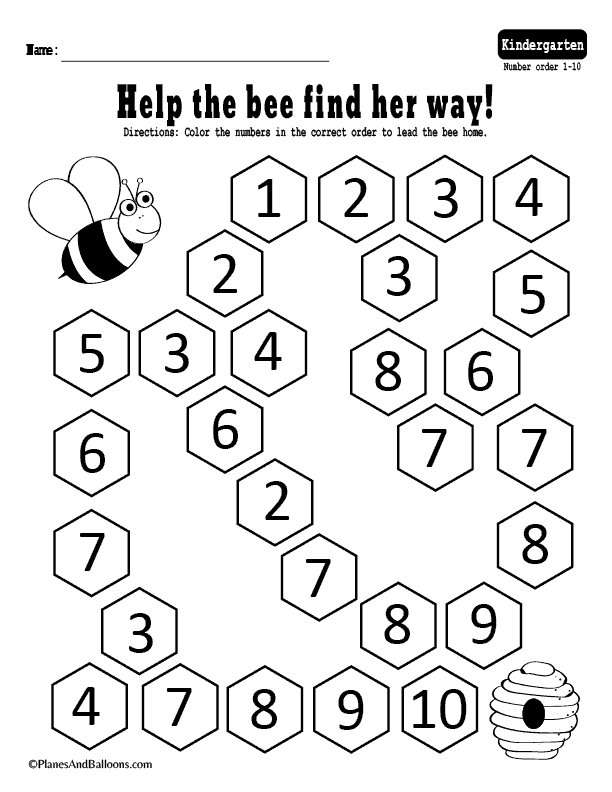 Number Sequence Worksheets For Kindergarten Fast Free Download Ordering Numbers Number Sequence Sequencing Numbers Activities