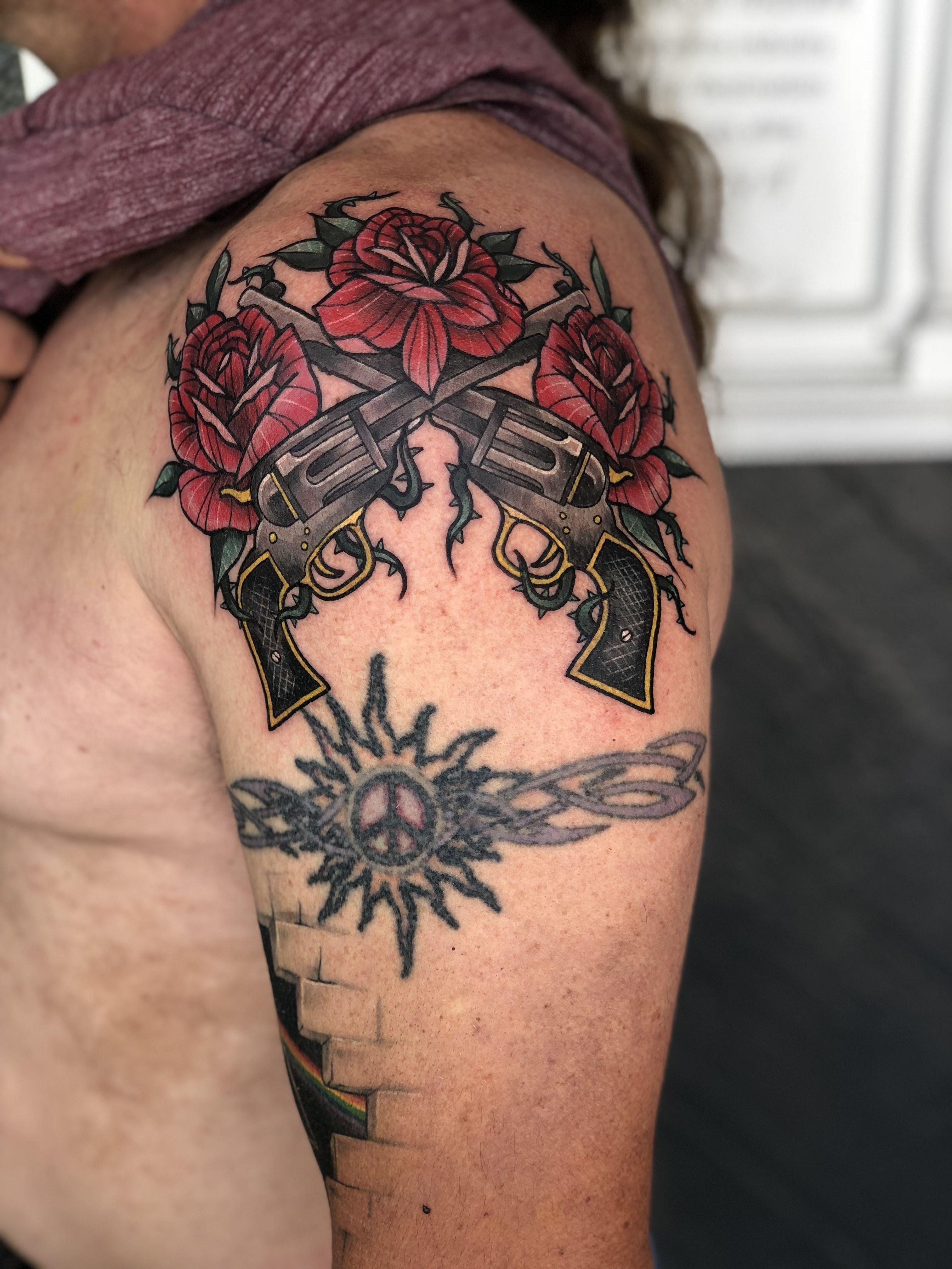 Guns n roses by joe winkler eliteinktattoos tattoos