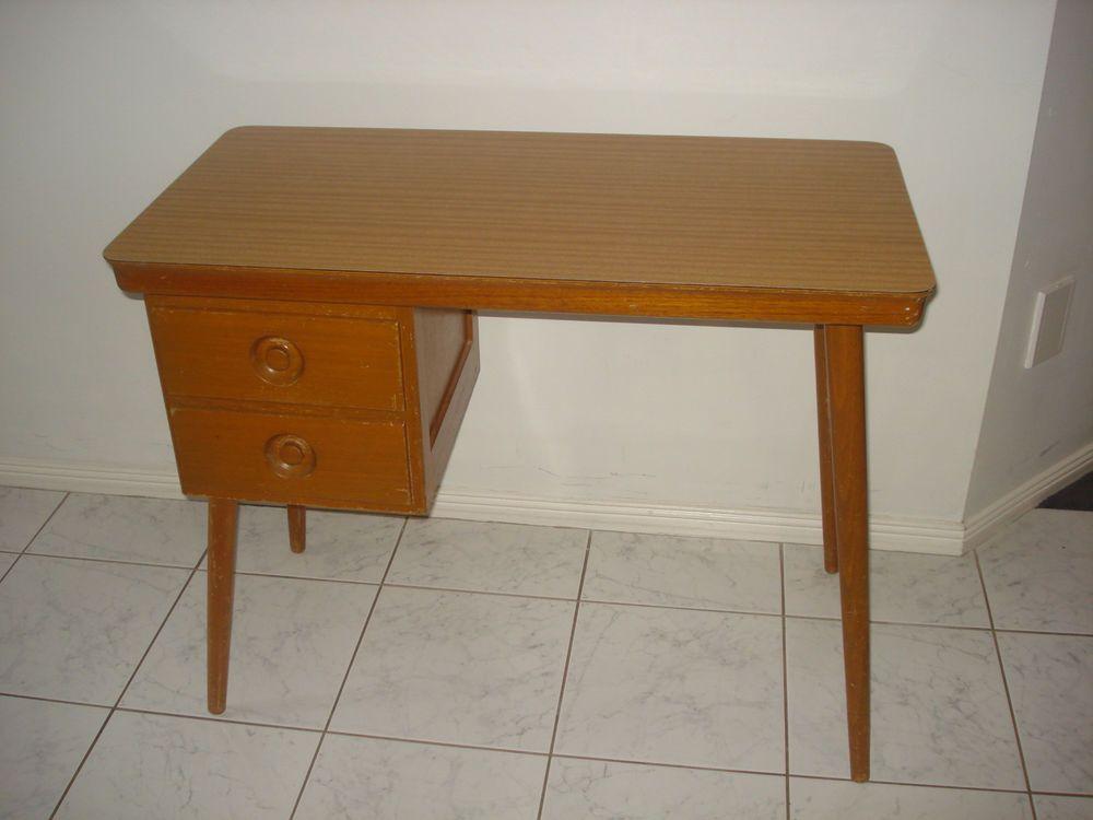 1960s 1962 cro student desk craft desk 2 drawers retro vintage rh pinterest cl