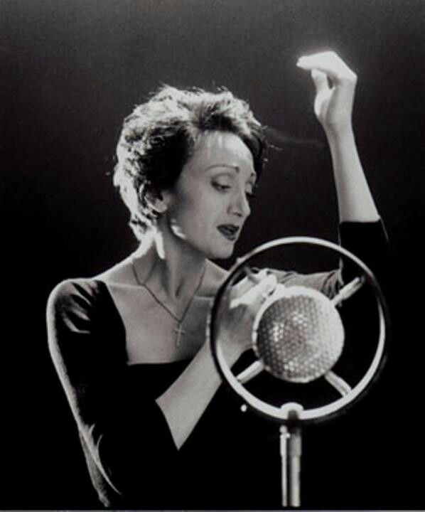 Edith Piaf -- France's Little Sparrow, whose nest rests in my heart.