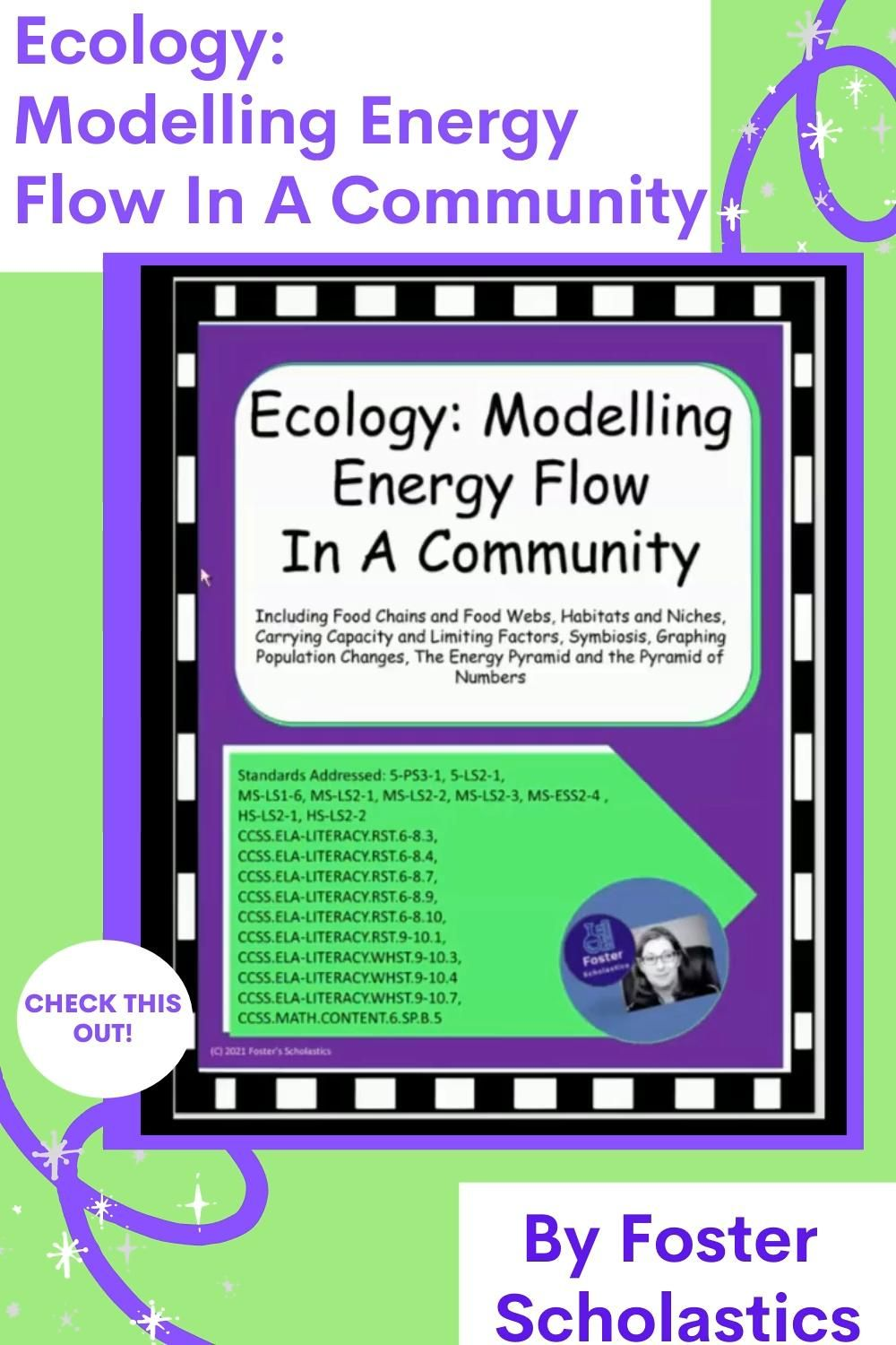 Ecology Modelling Energy Flow In A Community Video Video In 2021 Elementary Resources Teacher Help Science Curriculum [ 1500 x 1000 Pixel ]