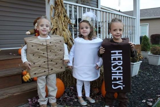 Halloween costumes  sc 1 st  Pinterest & Su0027mores | Siblings Costumes and Sibling halloween costumes