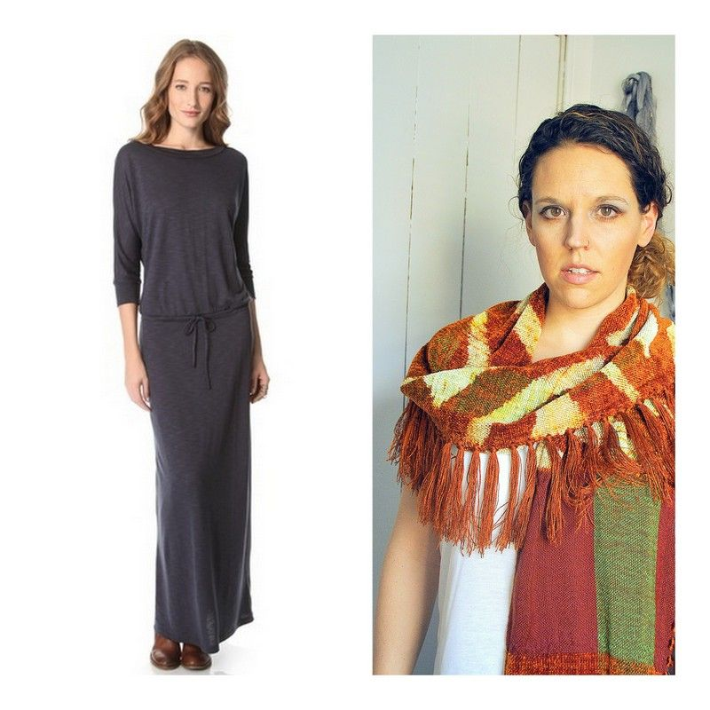 make over your look with a new one of a kind hand woven scarf by amber kane. amberkane.com