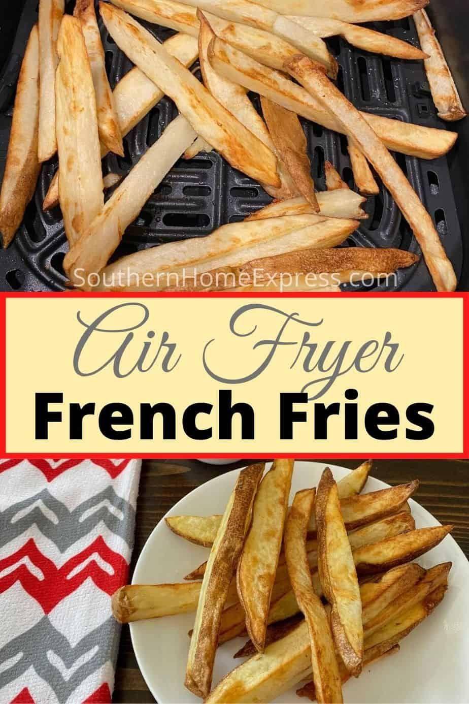 Best Air Fryer French Fries Recipe in 2020 Air fryer