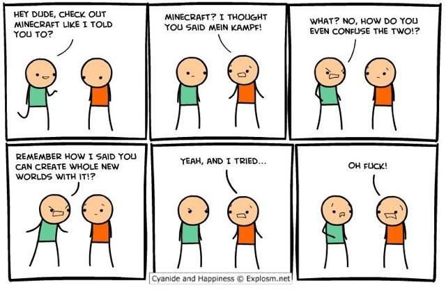 Seems excellent Cyanide comic strip curious topic