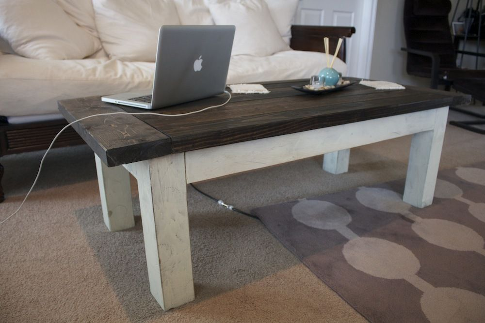 Tryde Coffee Table Ana White in 2020 Coffee table