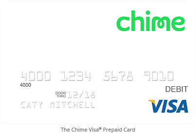 Just heard about this...The Chime Prepaid Debit Card. It