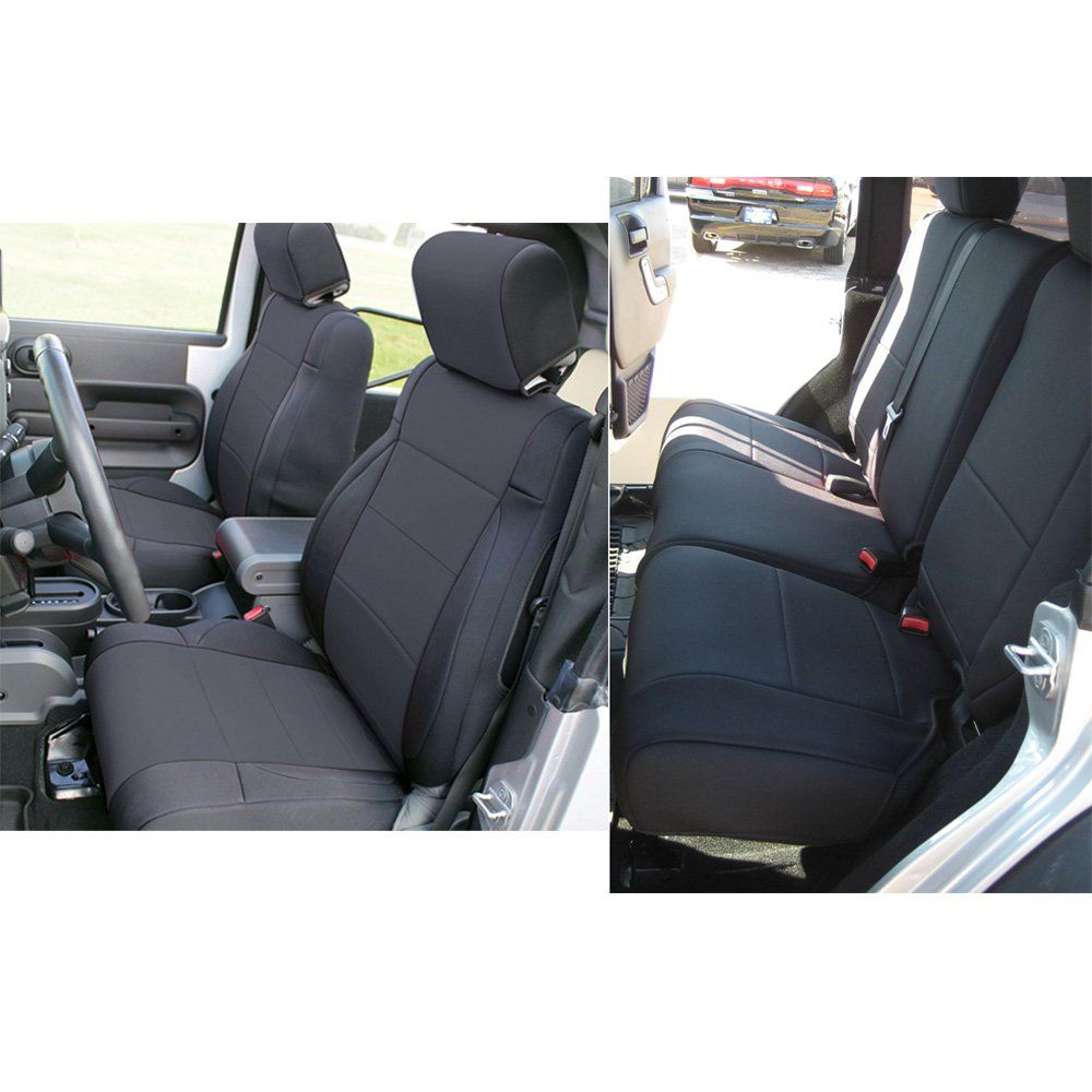 Surprising Leader Accessories Neoprene Jeep Wrangler Front Seat Covers Gamerscity Chair Design For Home Gamerscityorg