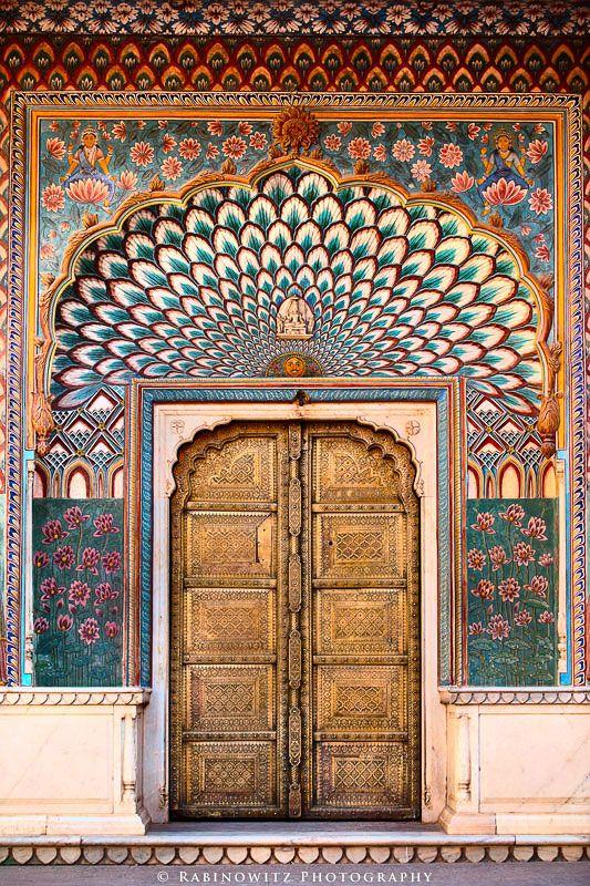 Jaipur-door-architecture-gold-palace-winter & Jaipur-door-architecture-gold-palace-winter | Casa Mia | Pinterest ... pezcame.com